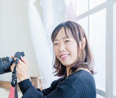 ママのHAPPYを叶えるフォトグラファー 金子淳子